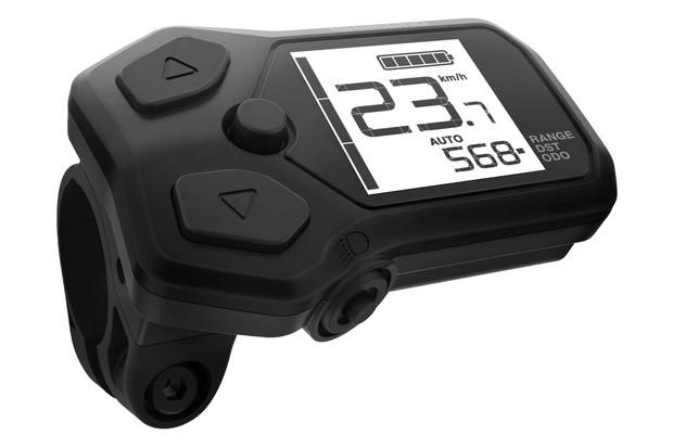 Visor de bicicleta elétrica Shimano SC-E5000