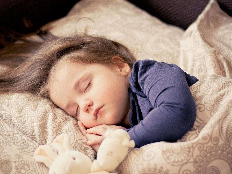 Bebê, Menina, Sono, Criança, Retrato, Doces, Filha